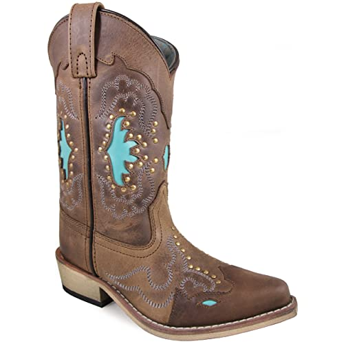 0577a9f76c7 Brown and Turquoise Boots: Amazon.com