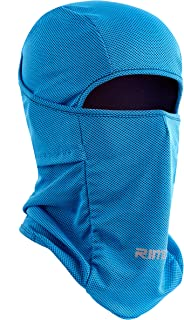 Botack Ice Silk Balaclava UV Protection Windproof Dustproof Face Mask Breathable Skiing Cycling Hiking Mask for Men Women