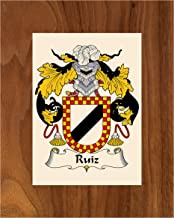 Best ruiz coat of arms family crest Reviews