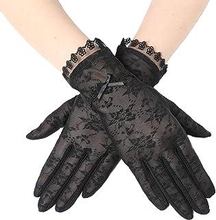 ArtiDeco Damen Lace Handschuhe Satin Braut Hochzeit Spitze Handschuhe Opera Fest Party Handschuhe 1920s Handschuhe Damen Kostüm Accessoires