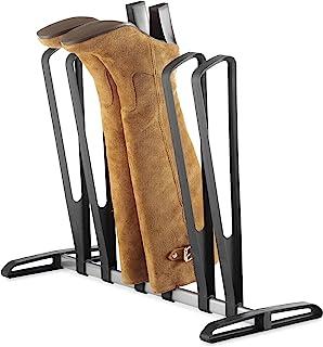 Whitmor 3 Pair Boot Rack - Adjustable Heavy Duty Frame - Black