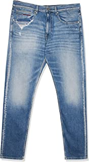 تومي جينز بنطال للرجال - لون ازرق - مقاس 34 EU