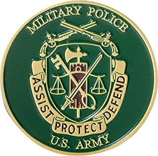 United States Army Military Police Corps Crossed Pistols Challenge Coin
