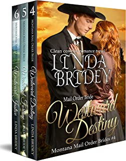 Montana Mail Order Bride Box Set (Westward Series) - Books 4 - 6: Historical Cowboy Western Mail Order Bride Bundle (Westward Box Sets Book 2)