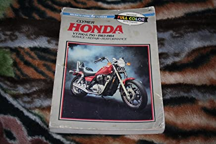 clymer honda vt700 & 750 1983-1984 service repair performance, exclusive  full color wiring