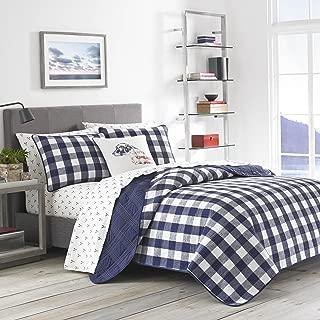 Eddie Bauer Lake House Plaid Quilt Set, Full/Queen, Blue