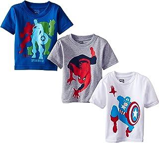 Marvel Boys' 3-Pack T-Shirt