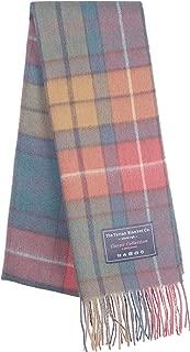 The Tartan Blanket Co. Lambswool Blanket Scarf Buchanan Antique Tartan