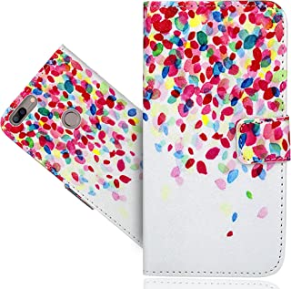 Elephone C1 Max Case, FoneExpert Beautiful Printed Pattern Leather Kickstand Flip Wallet Bag Case Cover For Elephone C1 Max