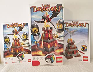 LEGO Lava Dragon [ Replacement ] Box & 2 Instruction Books ONLY for The Set #3838