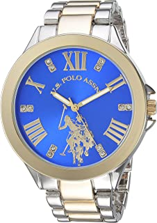 Women's Analog-Quartz Watch with Alloy Strap, Two Tone,...