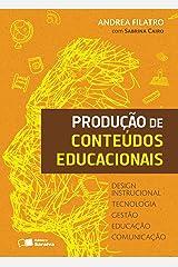 Produção de conteúdos educacionais eBook Kindle