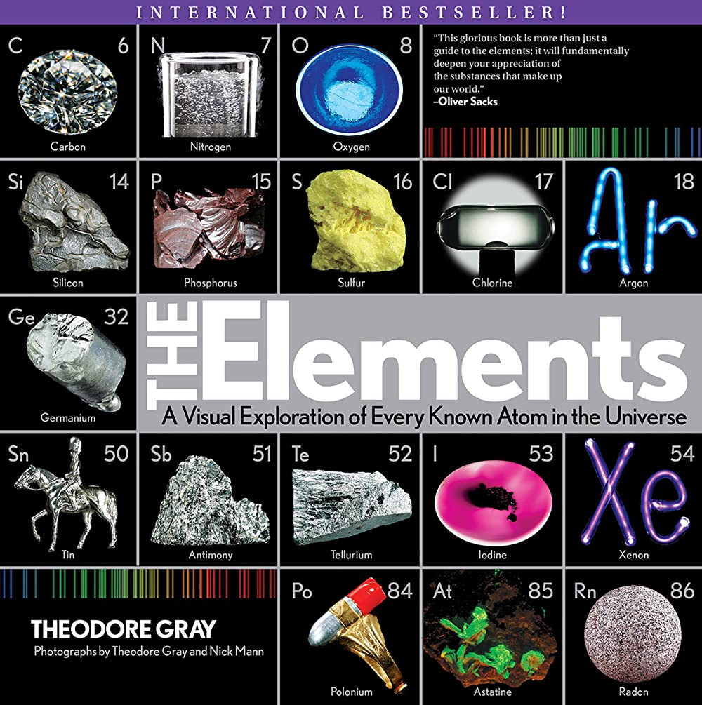 借りる菊リダクターElements: A Visual Exploration of Every Known Atom in the Universe (English Edition)