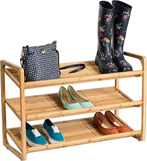 honey can do 3 tier shoe rack