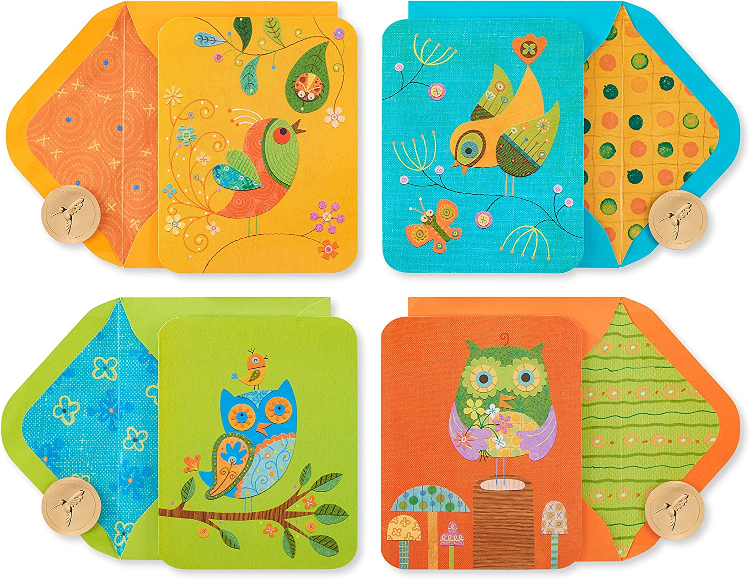 Papyrus Blank Now free shipping Cards with Envelopes 20-Count Birds Max 58% OFF and Owls