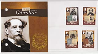 charles dickens postage stamps