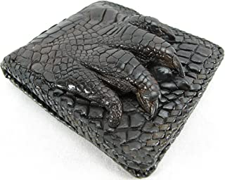 PELGIO Genuine Crocodile Alligator Foot Claw Skin Leather Handmade Wallet