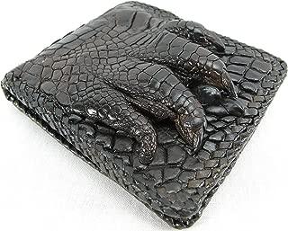 Genuine Crocodile Alligator Foot Claw Skin Leather Handmade Wallet