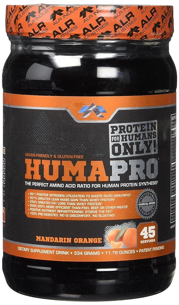ALR Industries Humapro Powder, Mandarin Orange, 334 Gram