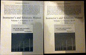 Instructor's and Solutions Manual Volume 1, Chapters 11-15 to accompany Vector Mechanics for Engineers Dynamics 8th Edition