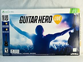 Guitar Hero Live Xbox 360 Game, Gaming Controller Guitar