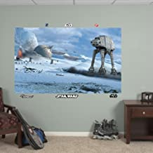 FATHEAD Star Wars: Battle of Hoth Mural-Huge Officially Licensed Removable Graphic Wall Decal, 78
