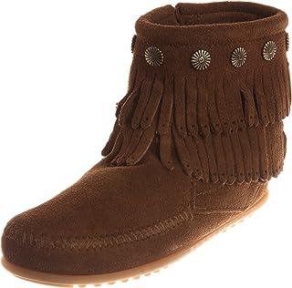 [ミネトンカ] MINNETONKA 【公式】ブーツ DOUBLE FRINGE SIDE ZIP BOOT