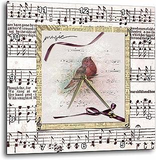 12efce851cd43 Amazon.com: songbird - Wall Clocks / Clocks: Home & Kitchen