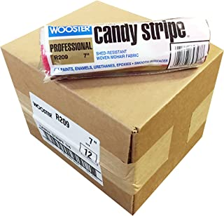 Wooster Brush R209-7 Candy Stripe Roller Cover 1/4