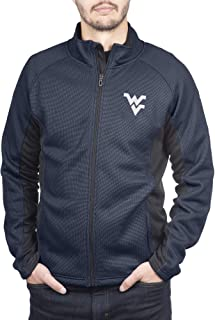 Spyder West Virginia Mountaineers Men's Constant Full Zip Sweater Gameday Jacket, X-Large