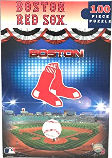 Master Pieces MLB Boston Red Sox Baseball Fenway Park Jigsaw Puzzle, 100-Piece