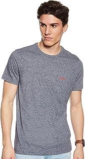 Hugo Boss Men's 50399333 T-Shirts, Blue, Medium