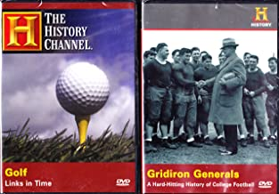 The History Channel : The History of Golf , the History of College Football : Sports Lovers Gift 2 Pack