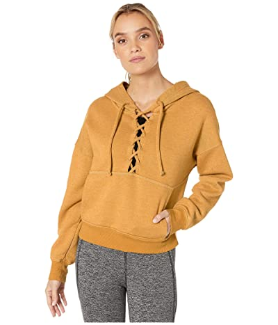 FP Movement Believe It Sweat Hoodie (Mustard) Women