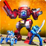 Future Robot Battle Simulator: Futuristic Robot