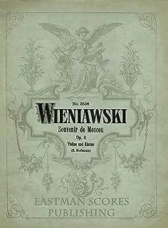 Wieniawski, Henri : Souvenir de Moscou : op. 6, Violine und Klavier
