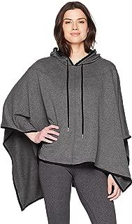 Danskin Women's High-Low Hooded Poncho