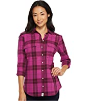 U.S. POLO ASSN. - Long Sleeve Two-Pocket Plaid Shirt