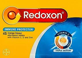 Redoxon Triple Action Effervescent Tab Orange, 45ct