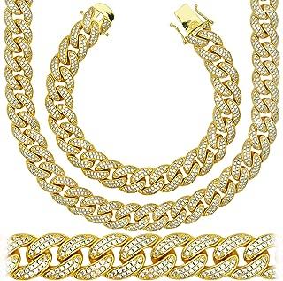 real cuban link chain diamond