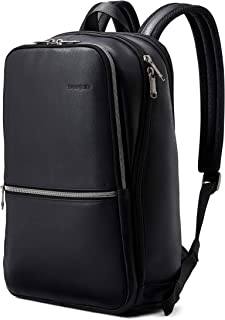 Classic Leather Slim Backpack