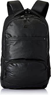 Gear Vintage2 Anti Theft Faux Leather 28 Ltrs Black Laptop Backpack (LBPVG2LTH0101)