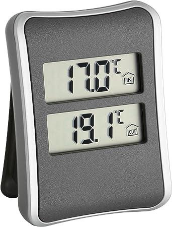 Tfa Dostmann Digitales Innen Aussen Thermometer Küche Haushalt