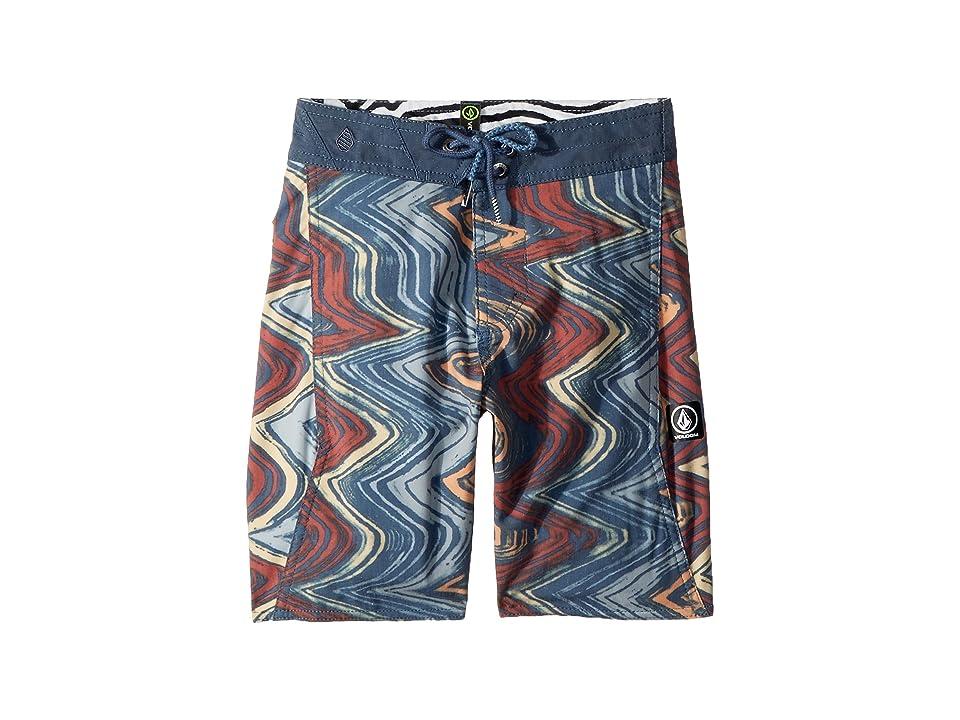 Volcom Kids Lo Fi Boardshorts (Big Kids) (Sunburst) Boy