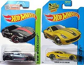 Ferrari 599 2015 2 Car Set Hot Wheels #188 599XX & #21 599 GTB Fiorano Speed racers