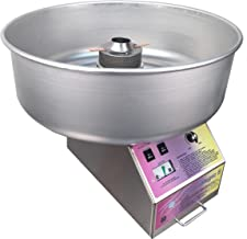 Spin Magic 5 Cotton Candy Machine with Metal Bowl for Professional Concessionaires Requiring Commercial Quality & Construction