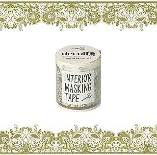 ニトムズ ウォールステッカー インテリアマスキングテープ 50mmレース ゴールド M3611