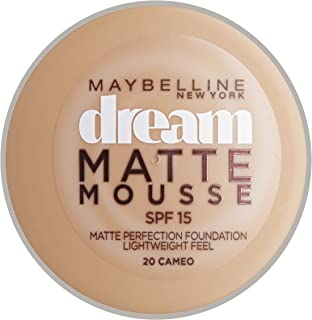 Maybelline Dream Matte Mousse Foundation - 020 Cameo, 18 ml