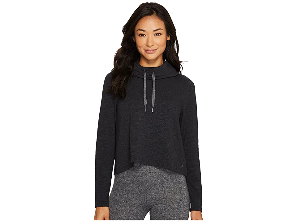 Under Armour Plush Terry Hoodie (Black/Black/Tonal) Women