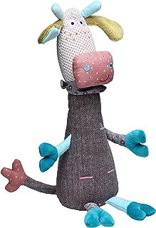 STORKI Giraffe Rattle Plush Toy for Babies, Soft Stuffed Animal Gift for Kids